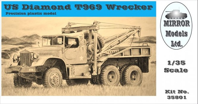Mirror                           Models' Diamond T Wrecker