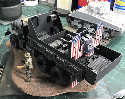 GunTruck Studios 5-Ton                           Artillery Truck Conversion Easy Rider