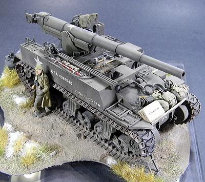 Academy M12 155mm Gun Motor Carriage