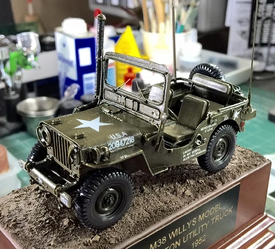 M38                           Willys Model MC Jeep